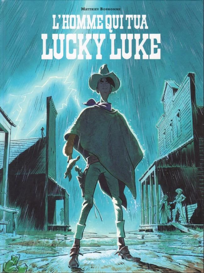 Couverture de Lucky Luke (vu par...) -1- L'Homme qui tua Lucky Luke