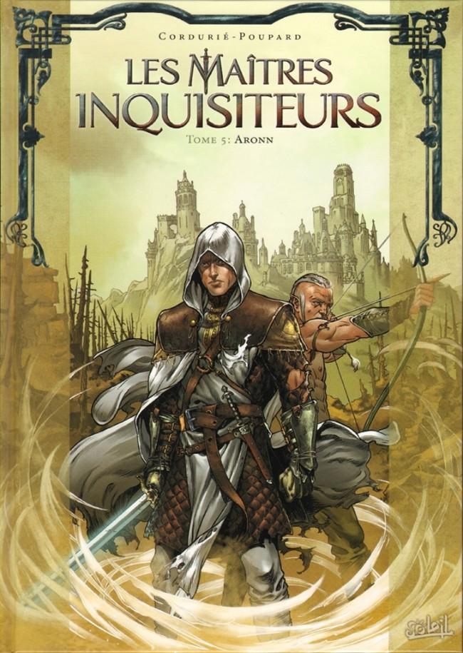Couverture de Les maîtres inquisiteurs -5- Aronn