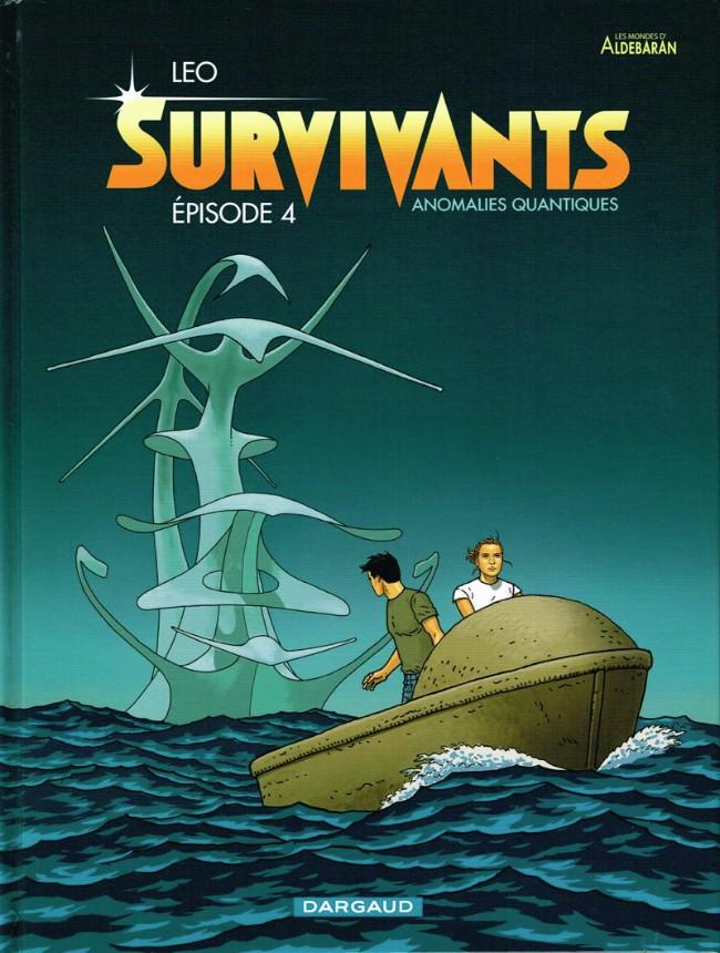 Couverture de Survivants - Anomalies quantiques -4- Épisode 4
