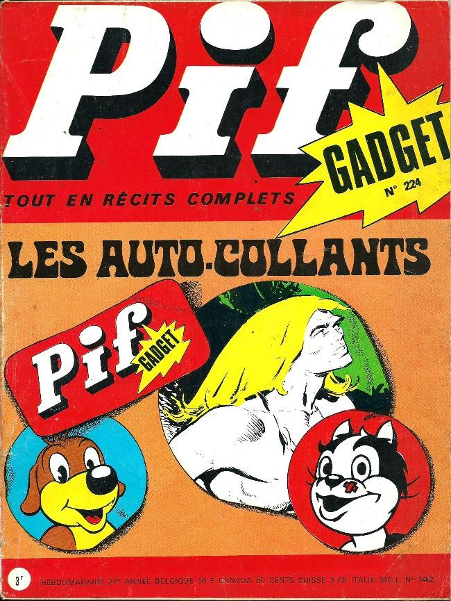 Couverture de Pif (Gadget) -224- Frayeur