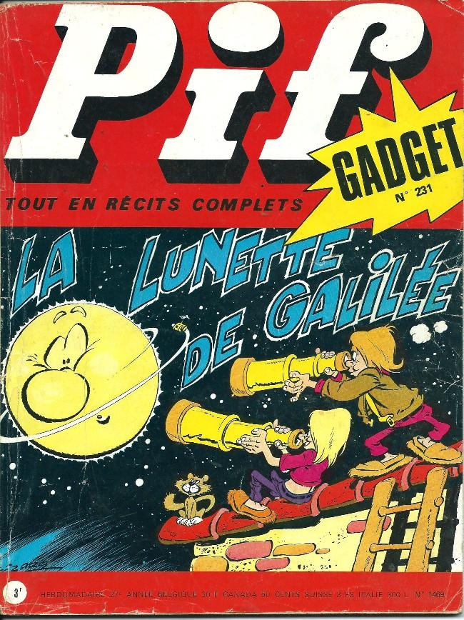 Couverture de Pif (Gadget) -231- Comment s'en débarrasser?...
