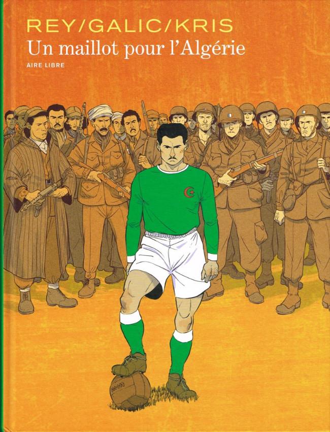 Couverture de Un maillot pour l'Algérie