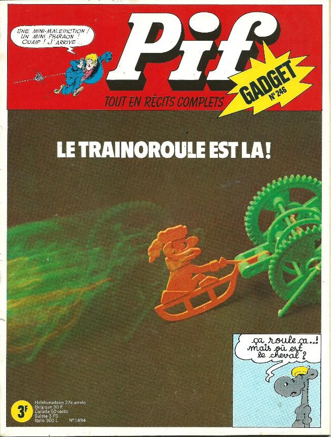 Couverture de Pif (Gadget) -246- La malédiction
