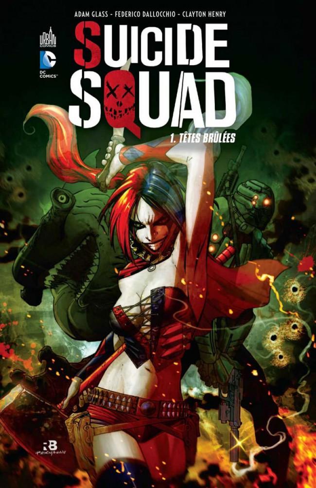 Couverture de Suicide Squad -1- Têtes brûlées