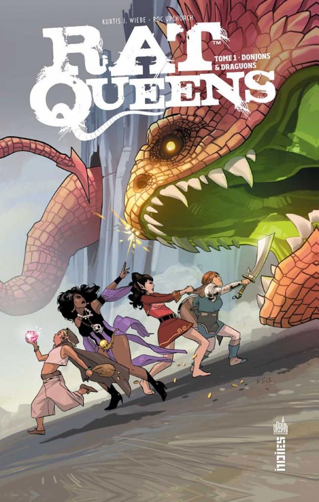 Couverture de Rat Queens -1- Donjons & draguons
