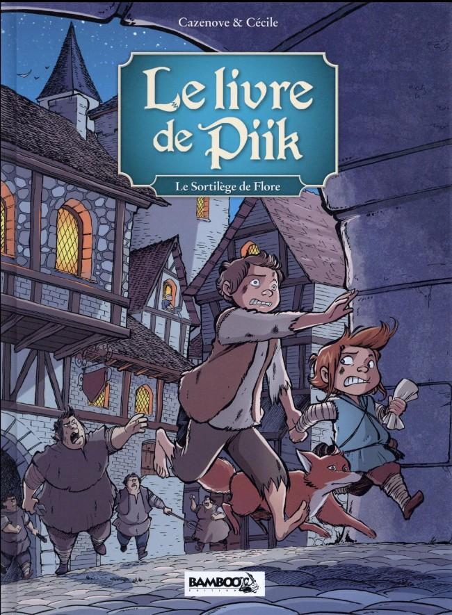 Couverture de Le livre de Piik -2- Le sortilège de flore