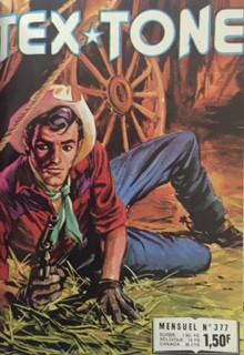 Couverture de Tex-Tone -377- La rançon