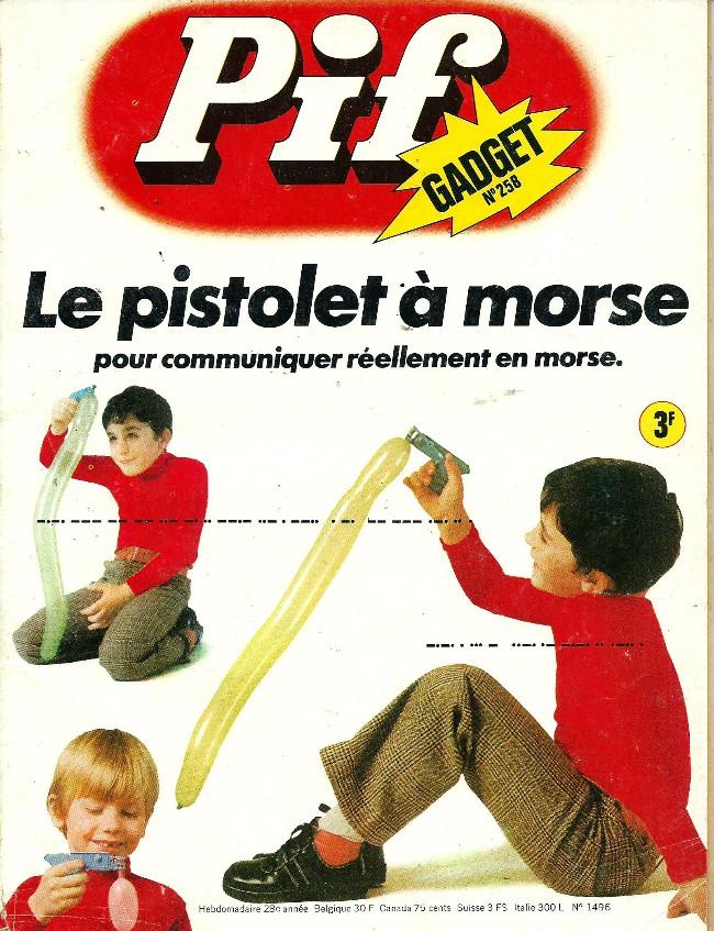 Couverture de Pif (Gadget) -258- Monte donc voir d'ou tu descends!