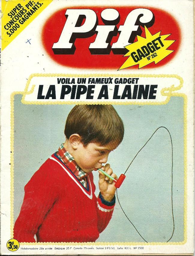 Couverture de Pif (Gadget) -262- Histoire à dormir debout