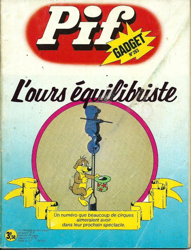 Couverture de Pif (Gadget) -263- Le pinceau d'Arnal