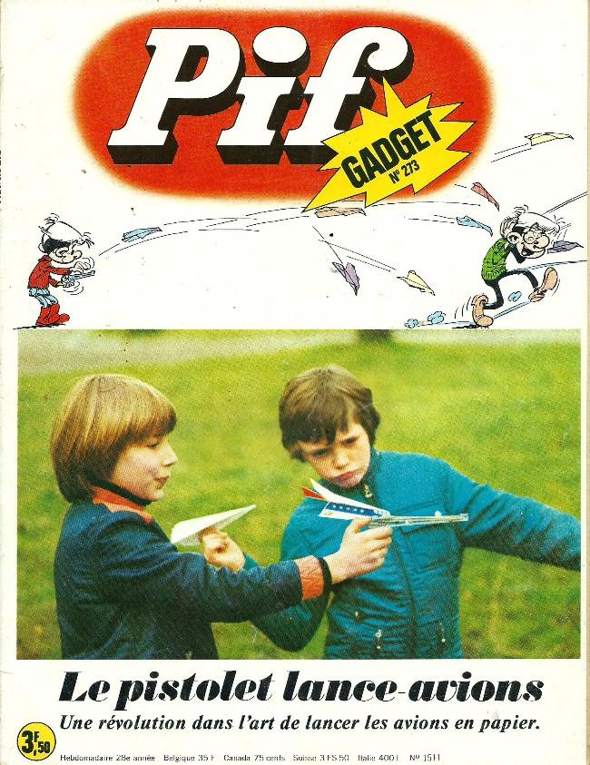Couverture de Pif (Gadget) -273- Tel est pris qui croyait prendre
