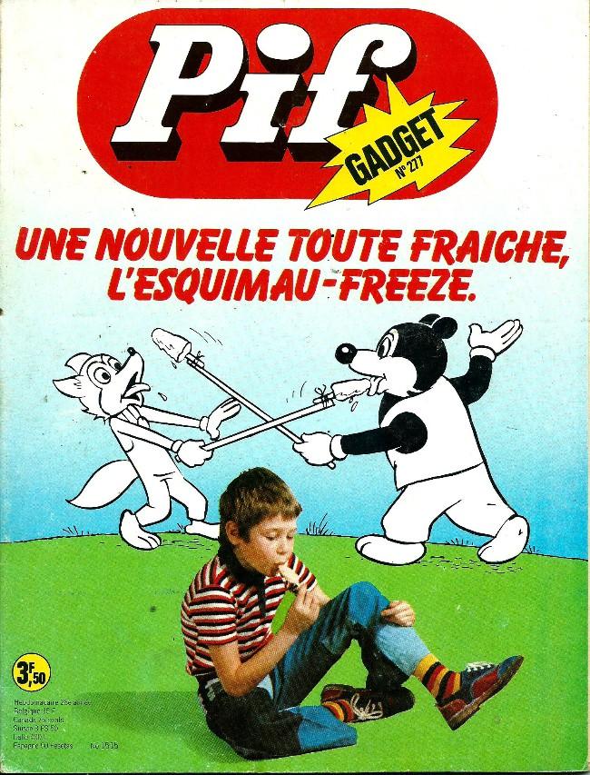 Couverture de Pif (Gadget) -277- Les aventures de Pif