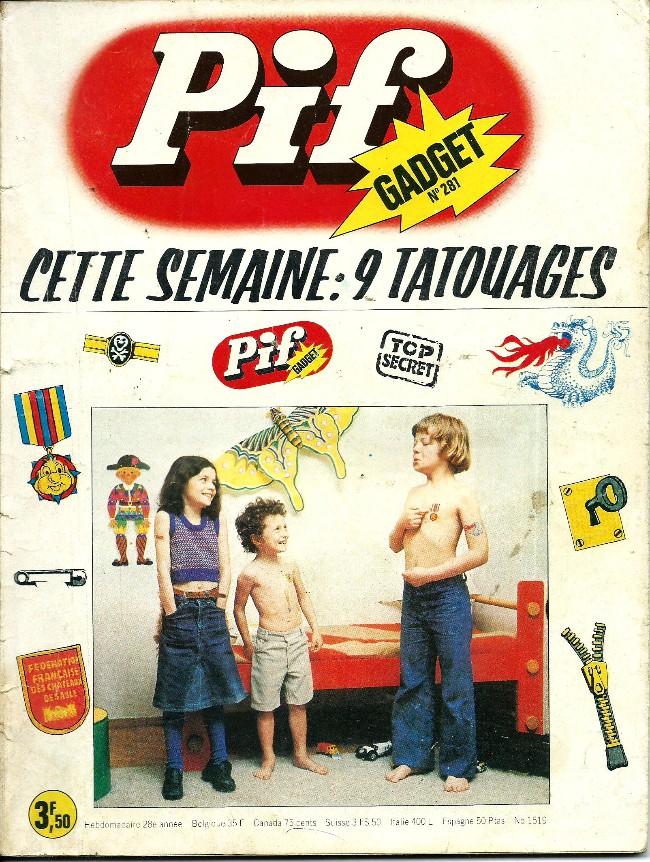 Couverture de Pif (Gadget) -281- Comme chien et chat!