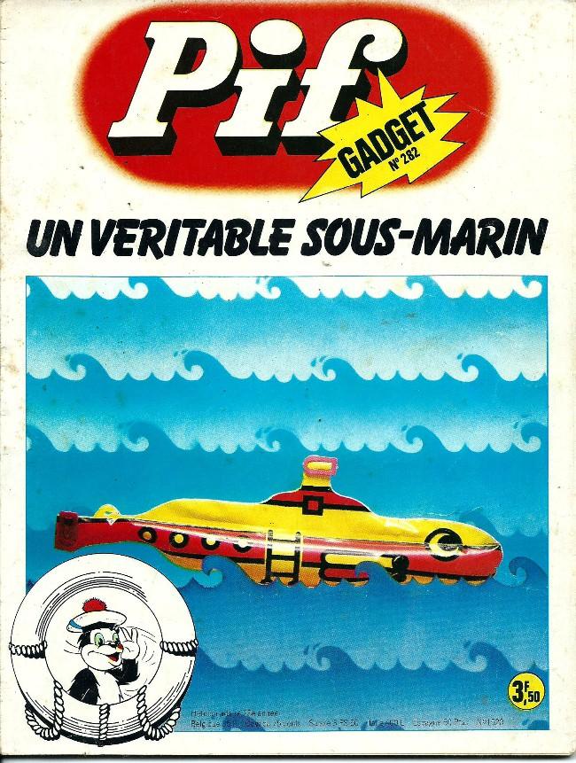 Couverture de Pif (Gadget) -282- Un sacré menu