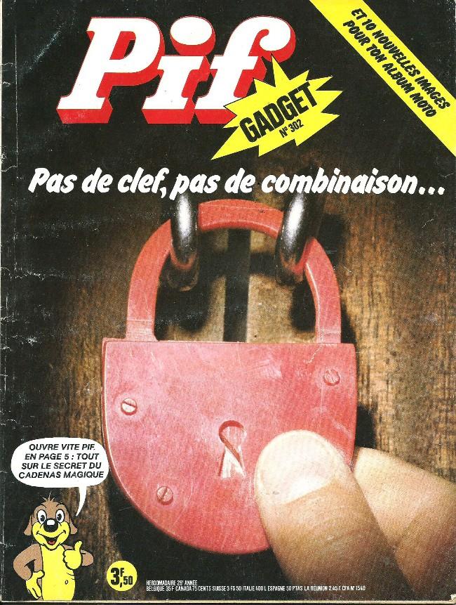 Couverture de Pif (Gadget) -302- La pifomobile