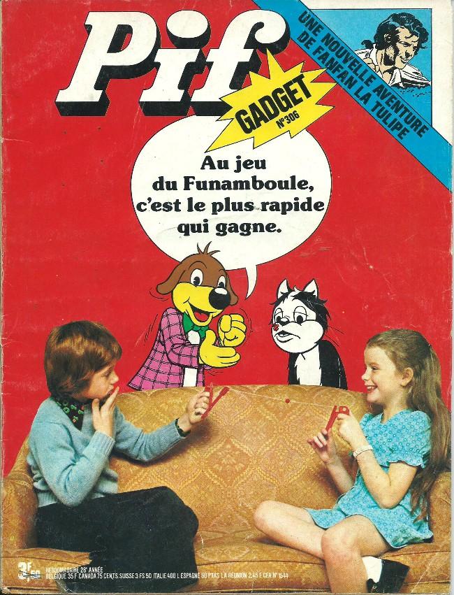 Couverture de Pif (Gadget) -306- Les aventures de Pif