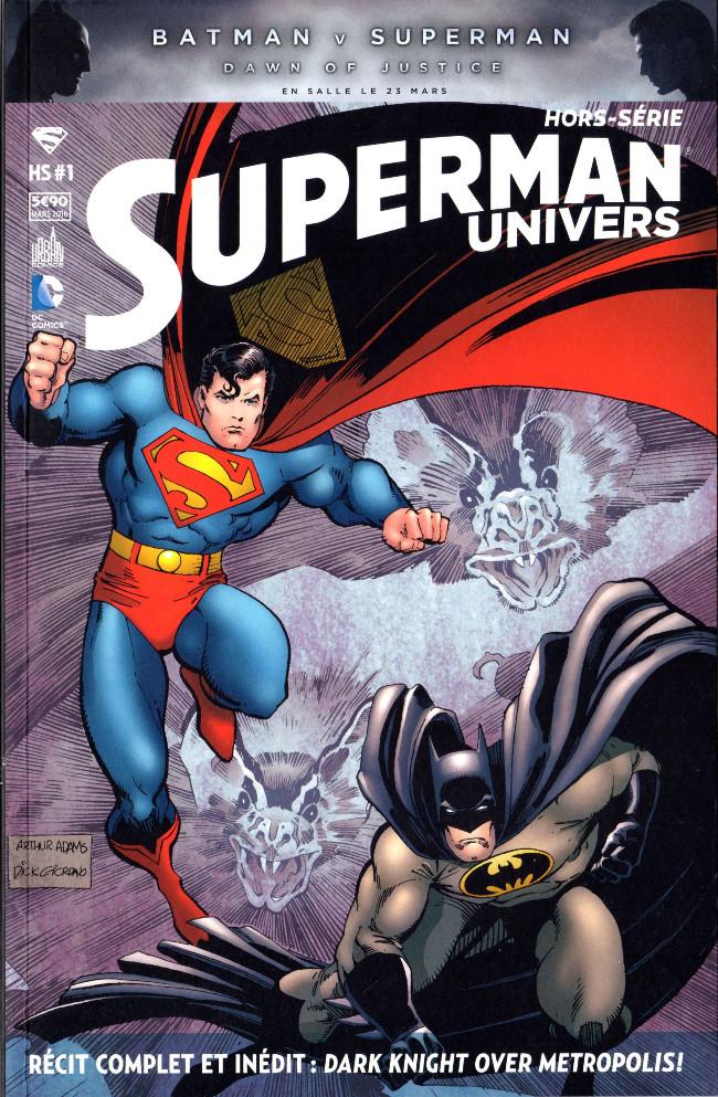 Couverture de Superman Univers -HS01- Dark Knight over Metropolis