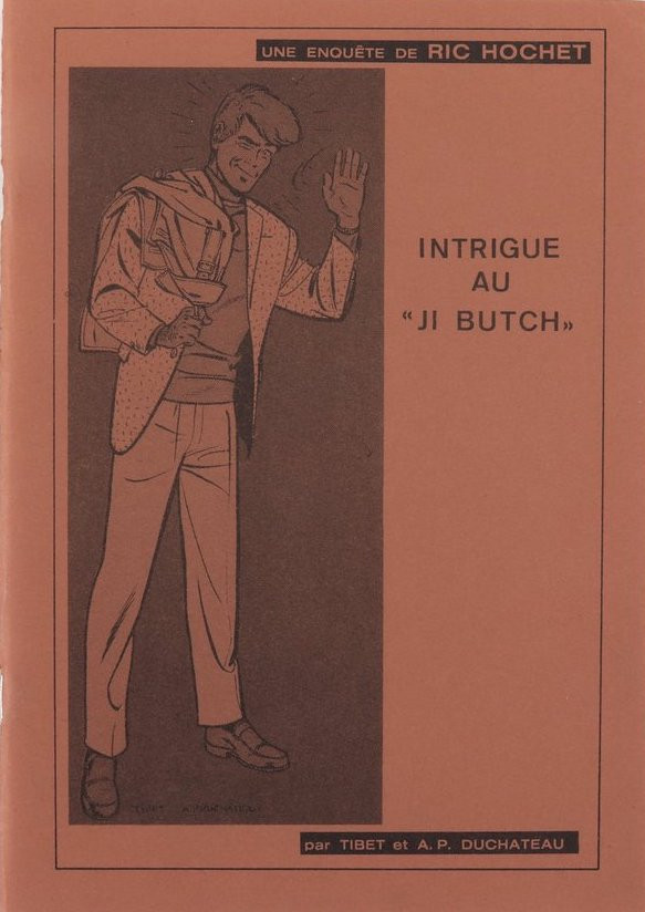 Couverture de Ric Hochet -PIR- Intrigue au