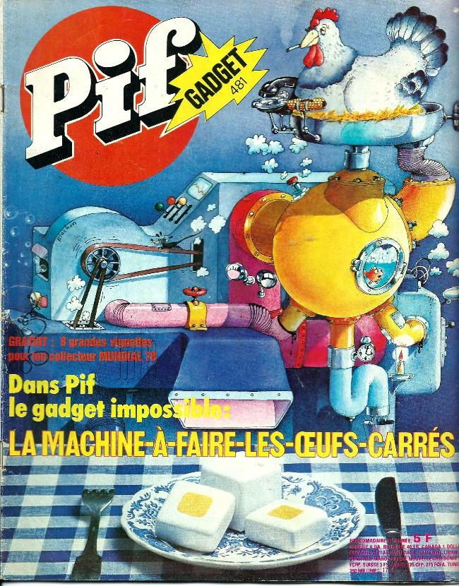 Couverture de Pif (Gadget) -481- Maman les p'tites autos ont-elles des jambes?