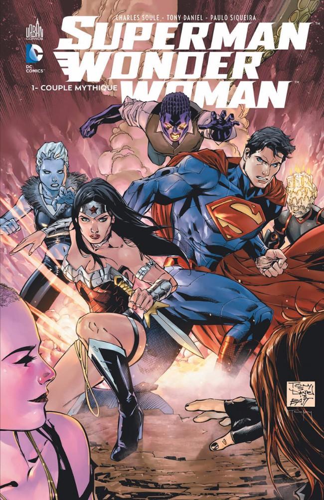 Couverture de Superman/Wonder Woman -1- Couple mythique