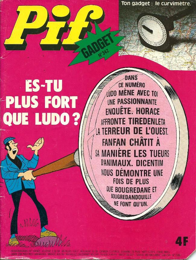 Couverture de Pif (Gadget) -342- Le curvimètre