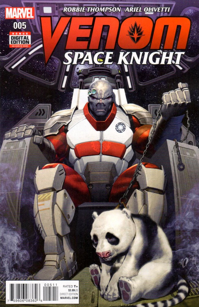 Couverture de Venom: Space Knight (2016) -5- Issue 5