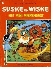 Couverture de Suske en Wiske -75- Het mini-mierennest