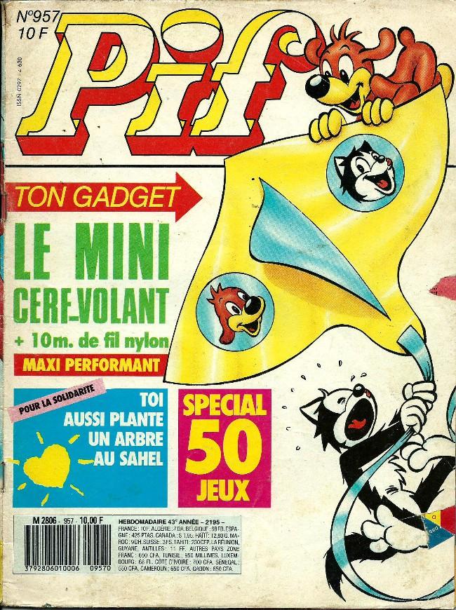 Couverture de Pif (Gadget) -957- La guerre de l'énerscmoll (dernier épisode)
