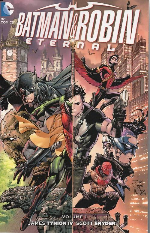 Couverture de Batman & Robin Eternal (2015) -INT01- Volume 1