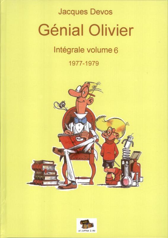 Couverture de Génial Olivier -INT06- Intégrale volume 6 : 1977-1979