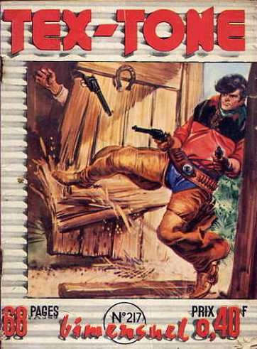 Couverture de Tex-Tone -217- A cause d'un rat