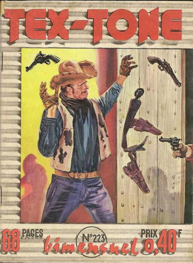 Couverture de Tex-Tone -223- Le maitre de Piedras Negras