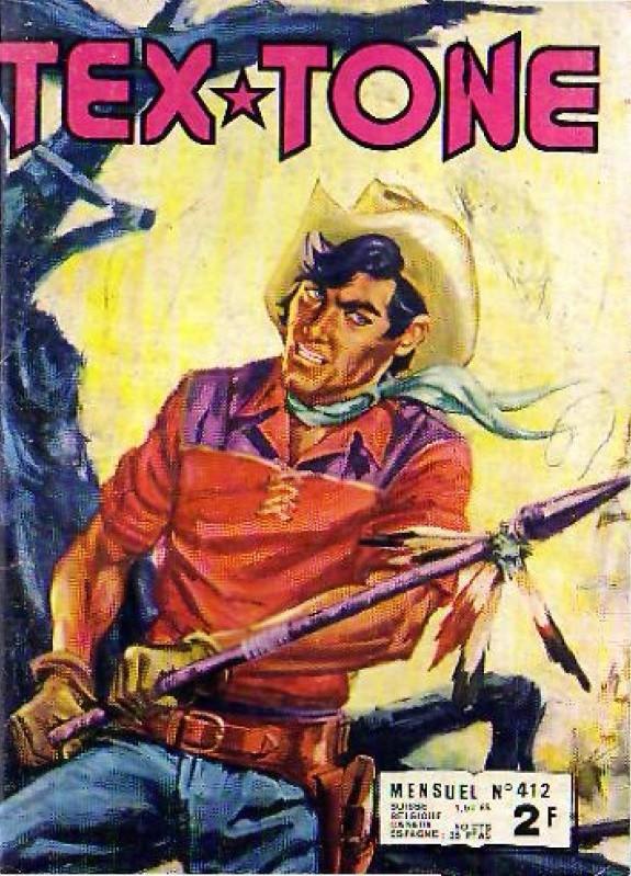 Couverture de Tex-Tone -412- L'imposteur