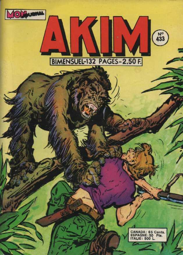 Couverture de Akim (1re série) -433- Le chirurgien félon
