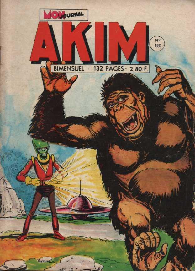 Couverture de Akim (1re série) -463- Les doubles