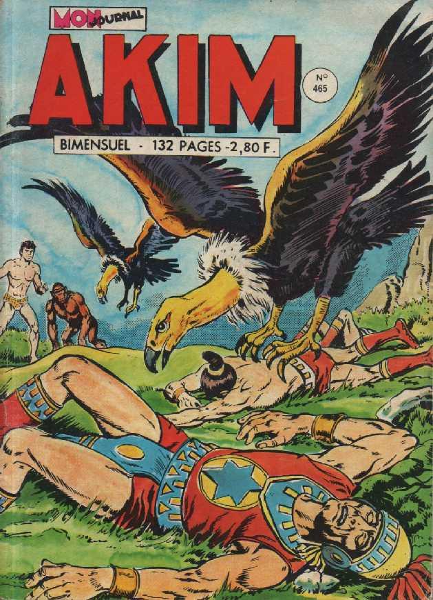 Couverture de Akim (1re série) -465- Les éclairs rouges