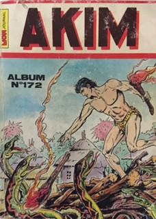 Couverture de Akim (1re série) -Rec172- Album N°172 (du n°749 au n°752)