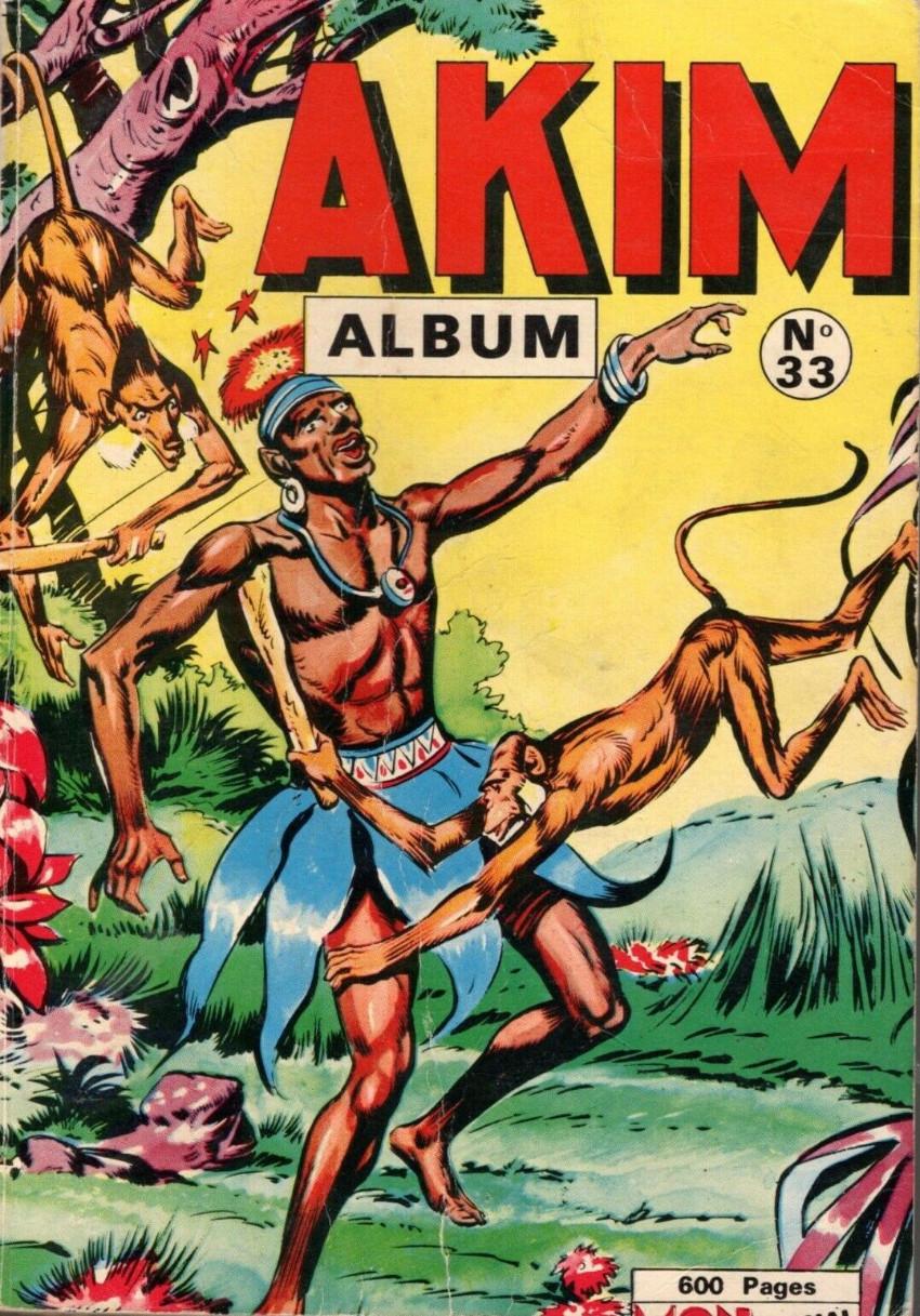 Couverture de Akim (1re série) -Rec033- Album N°33 (du n°200 au n°205)