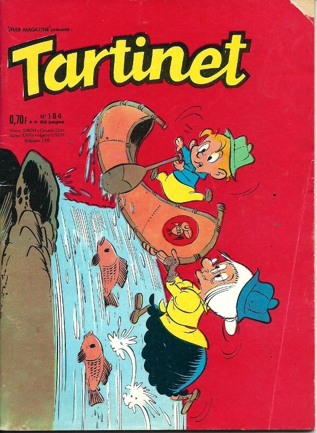 Couverture de Tartinet -184- Un sans-logis