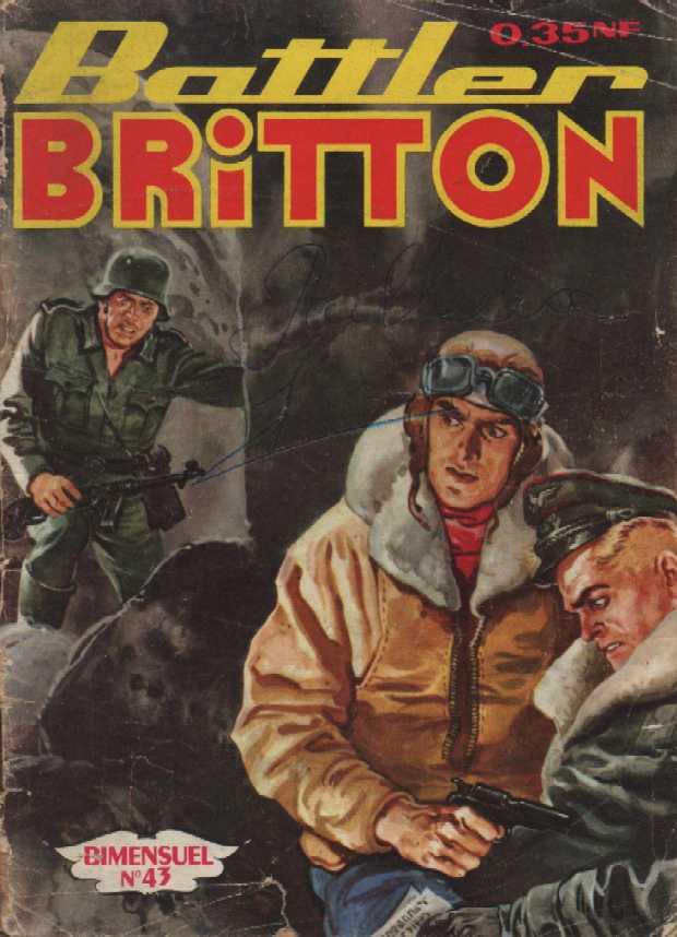 Couverture de Battler Britton -43- Le piege