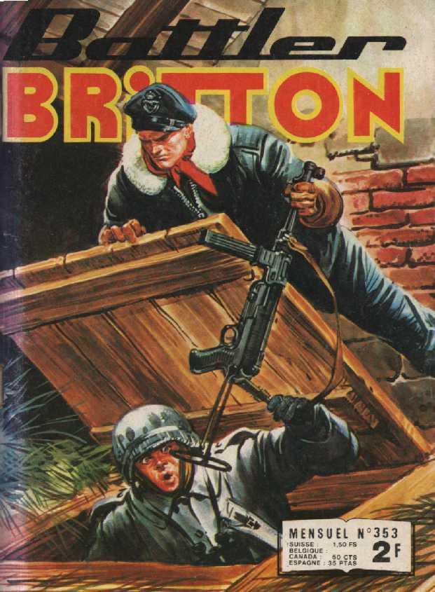 Couverture de Battler Britton -353- Carburant special