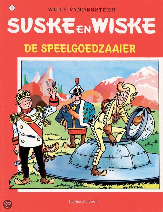 Couverture de Suske en Wiske -91- De speelgoedzaaier