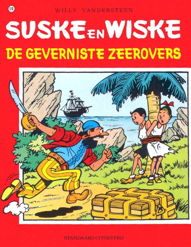 Couverture de Suske en Wiske -120- De geverniste zeerovers