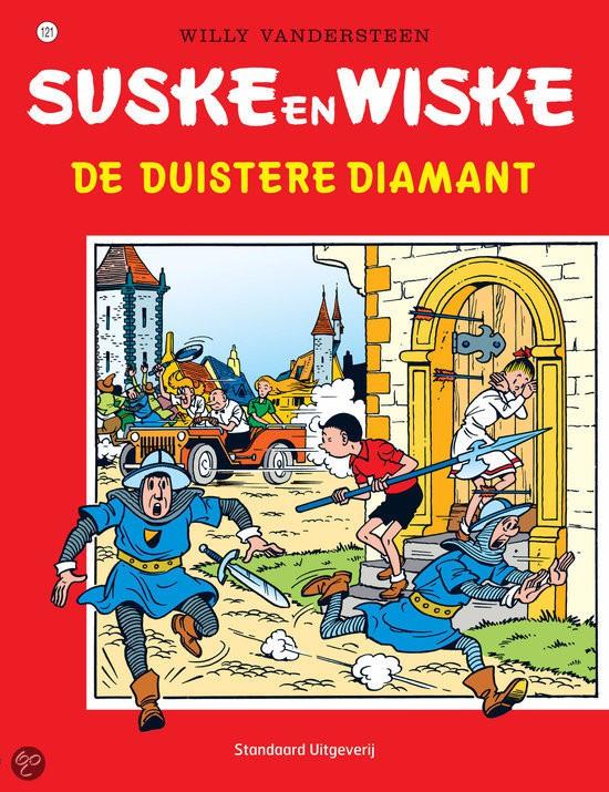 Couverture de Suske en Wiske -121- De Duistere Diamant