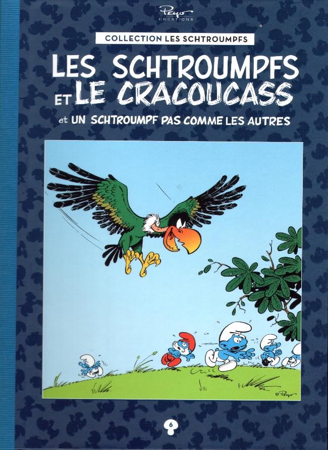 Couverture de Les schtroumpfs - La collection (Hachette) -6- Les schtroumpfs et le cracoucass