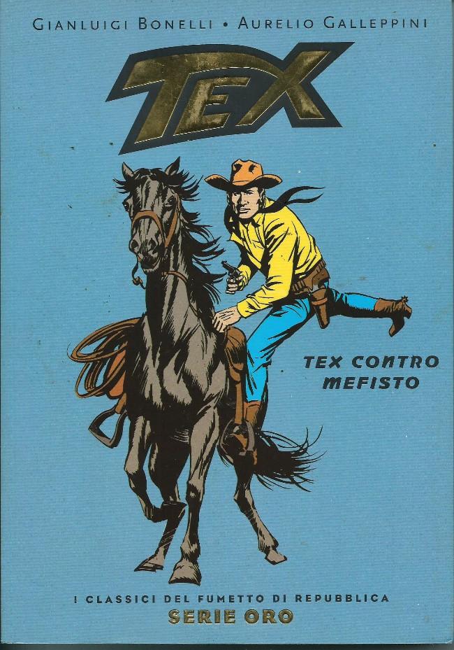 Couverture de Classici del Fumetto di Repubblica (I) - Serie Oro -2- Tex - Tex contro Mefisto