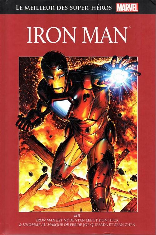 Couverture de Marvel Comics : Le meilleur des Super-Héros - La collection (Hachette) -6- Iron Man