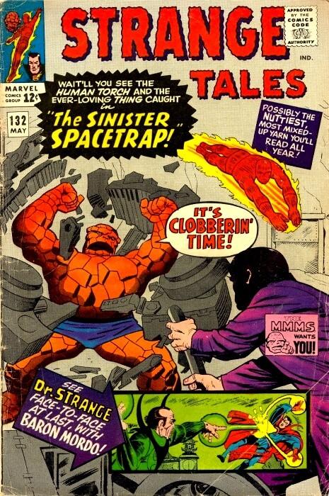 Couverture de Strange Tales (Marvel - 1951) -132-