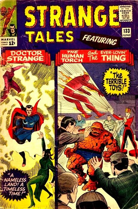 Couverture de Strange Tales (Marvel - 1951) -133-