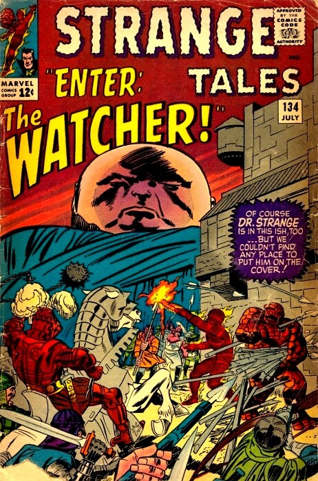 Couverture de Strange Tales (1951) -134- Enter the Watcher!